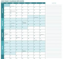 whole year calendar template free excel calendar templates