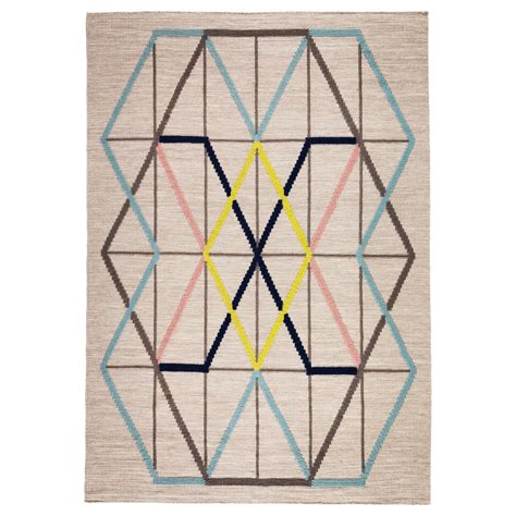 Ps Rug by Ps 2014 Rug Flatwoven Handmade Multicolour 128x180