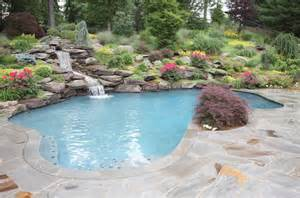 Backyard Pool Landscaping Pictures Eye Catching And Cool Ideas Of Pool Design For Backyard Themescompany