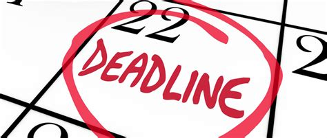 The August Deadline For The Whole Work Situation L by Dealing With Impossible Deadlines Bizzmark