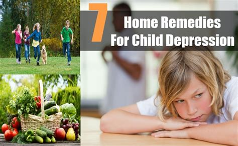 top 7 home remedies for child depression