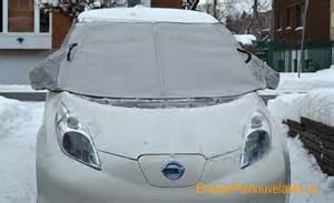 minigarage housse hiver pare brise voiture