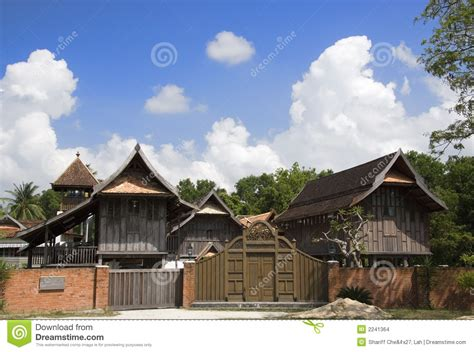 traditional malay house stock images image