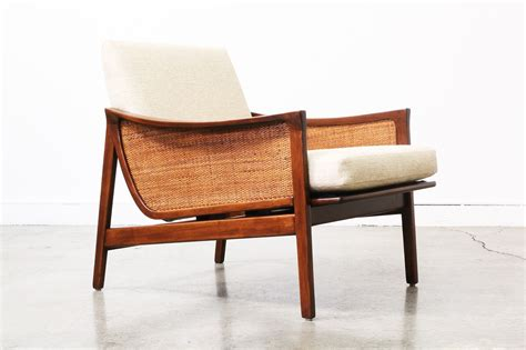Midcentury Modern Lounge Chair mid century modern caned lounge chair vintage supply store