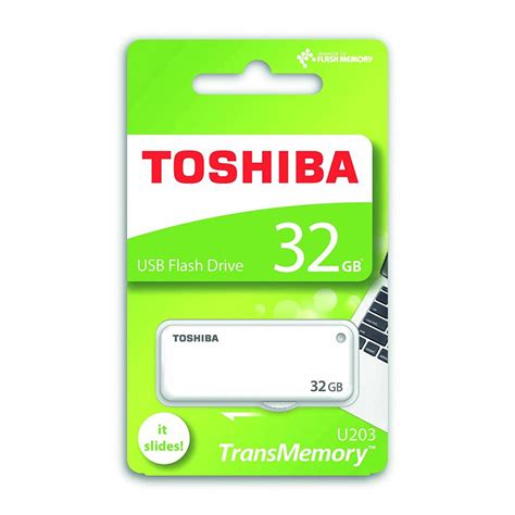 Flash Disk Flash Drive Merk Toshiba 32gb toshiba usb flash drive 32gb transmemory u202 white 32gb smart systems amman