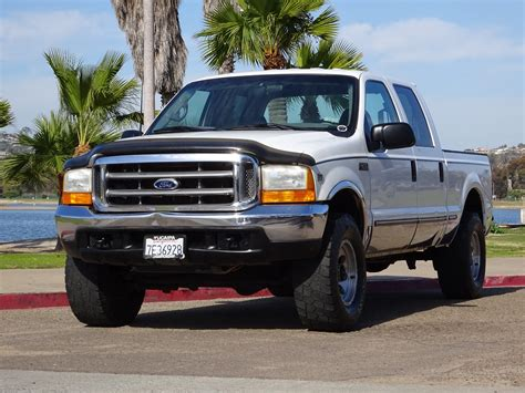 1999 ford f250 v10 6 8l gas crew cab 4x4 xlt california