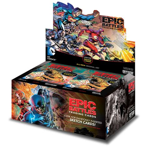 Gift Card Trading Site - dc comics epic battles trading cards cryptozoic entertainment