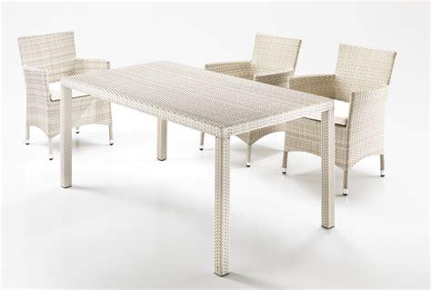 tavolo rattan bianco tavolo rettangolare rattan bianco etnico outlet mobili
