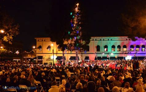 xmas tree lighting orange ct orange county southern california daily photo part 2