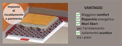 vantaggi riscaldamento a pavimento il massetto su impianto di riscaldamento a pavimento o
