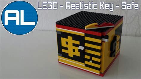 lego vault tutorial lego safe realistic key mechanism with tutorial youtube