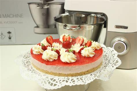 Cheesecake Rezept Erdbeer by Erdbeer Cheesecake Mit Erdbeerspiegel Gewinnspiel
