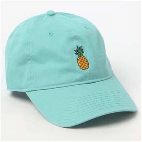 pacsun pineapple strapback hat at from pacsun pop