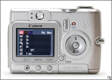 canon powershot a510 review: digital photography review