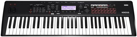 Keyboard Merk Korg korg 2 61 matte black keymusic