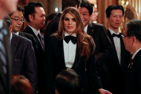 hope hicks japan outfit trump s communications head hope hicks wears tuxedo