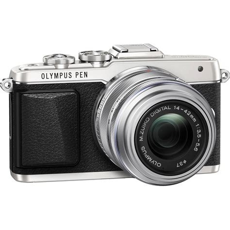 Kamera Mirrorless Olympus Epl7 olympus pen e pl7 mirrorless micro four thirds v205071su000 b h