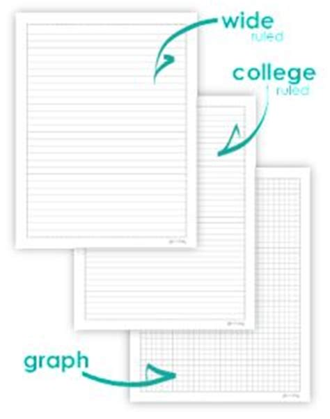graph paper academic notebook ruled with table of metric equivalents books home management binder home management and for the home