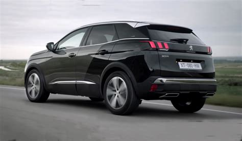 peugeot 3008 2017 black 2017 peugeot 3008 gt interior exterior and drive youtube