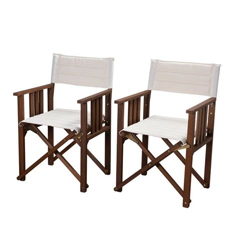 Canvas Patio Chairs Arlington House Glenbrook Black Patio Chairs 2 Pack 7871700 0205000 The Home Depot