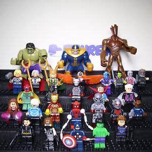 Lego Brick Sy 178 Keychain Nick Fury Minifigure Baru Lego Bricks 2018 3 infinity war marvel superheroes set minifigure fits lego ebay