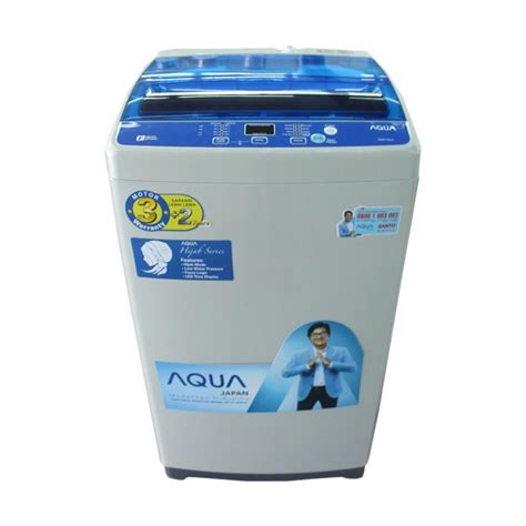 Mesin Cuci Aqua Japan 16kg jual aqua japan aqw 97dh mesin cuci top loading 9 kg