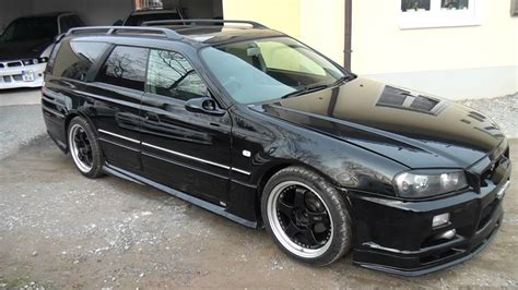 nissan stagea nissan stagea gtr 34 youtube