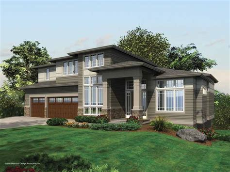 prairie style home plans contemporary house plans smalltowndjs