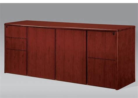 r530 ruby executive storage credenza cherryman