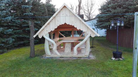 gartenhaus pavillon blockhaus gartenhaus pavillon aus holz und baumst 228 mmen