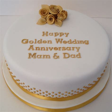Engagement Decoration Ideas Home by Round Golden Wedding Anniversary Cake