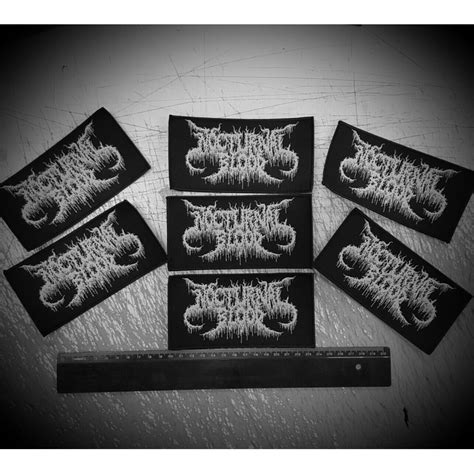 Us Patch New nocturnal blood us quot new logo quot patch iron bonehead