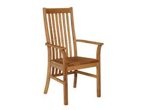 Dining Room Chairs Oak by Lichfield Solid Oak Carver Dining Chair With Arms