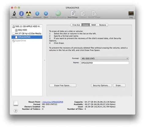 format exfat or ms dos make a drive compatible with windows and mac os x