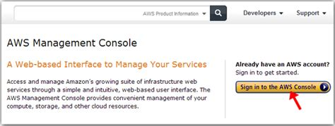 aws console sign in web services codeproject rachael edwards