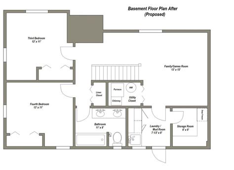 2 bedroom basement floor plans 2 bedroom house plans with basement elegant best 25