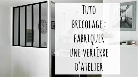 Faire Verriere Atelier by Fabriquer Une Verri 232 Re D Atelier Cloison Fait Maison
