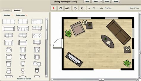 free furniture layout tool design a room software home design