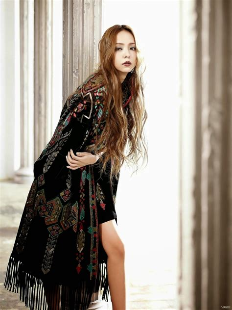 namie amuro usa magazines the charmer pages namie amuro for vogue