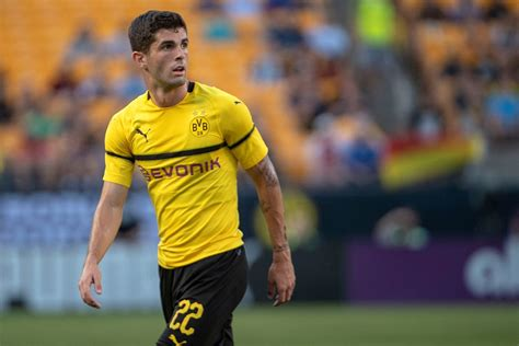 christian pulisic vs hoffenheim watch christian pulisic scores first bundesliga goal of
