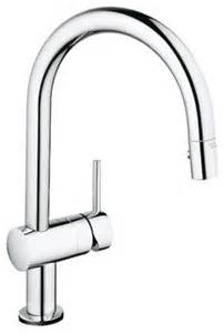 Touch Activated Kitchen Faucets Grohe 31 359 Minta Touch Activated Pull Down High Arc