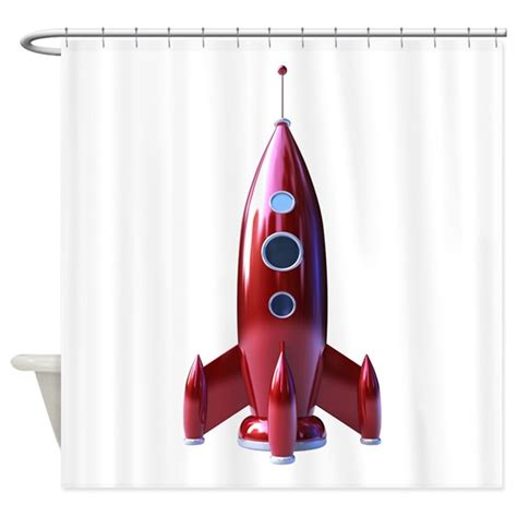 rocket ship curtains rocketship shower curtain by rocketship3
