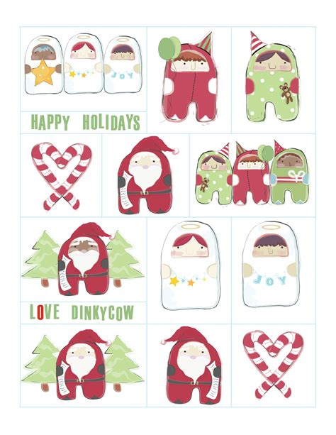 free rintable christmas gift tags new calendar template site