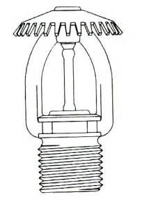 Sprinkler Head Clip Art Fire Sketch Coloring  sketch template