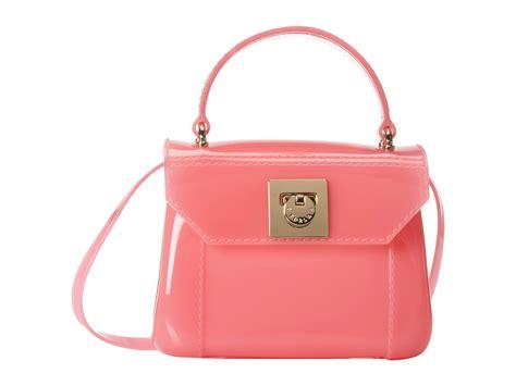Furla Cardy furla bon bon mini crossbody in pink lyst