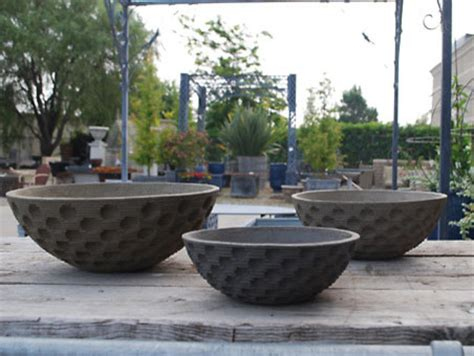 Large Outdoor Bowl Planters by Traditional Outdoor Pots And Planters