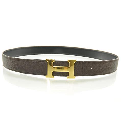 hermes leather reversible h belt 90 27465