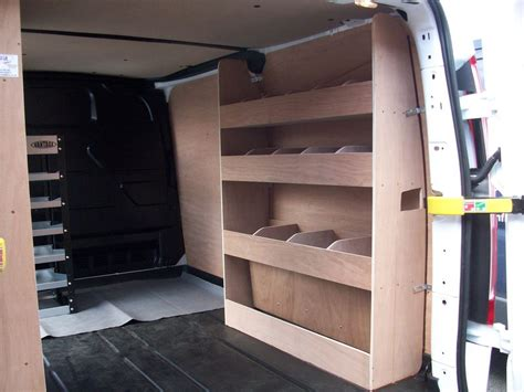 Racking Show by Ford Transit Custom Racking Ply Shelving Swb Storage