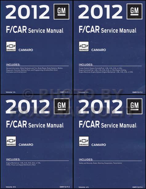 what is the best auto repair manual 2012 infiniti g25 regenerative braking 2012 chevy camaro repair shop manual original 4 volume set