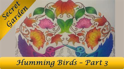 secret garden coloring book availability humming birds part 3 secret garden coloring book